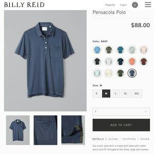 Billy Reid Polo